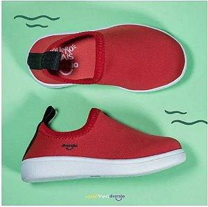 Tênis Confort Baby Vermelho - Diversão