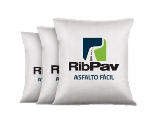 Asfalto Fácil para Reparo RibPav - 25 KG