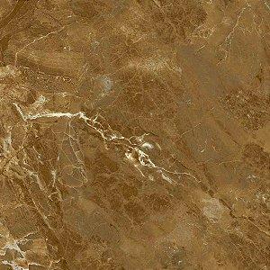 Porcelanato Delta 70x70 Andrus Esmalte Polido Brilhante