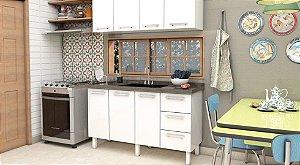 Gabinete Cozinha aço Vênus Flat Cozimax