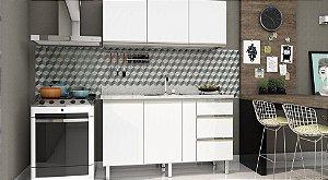 Gabinete Cozinha aço Gaia Flat - Cozimax