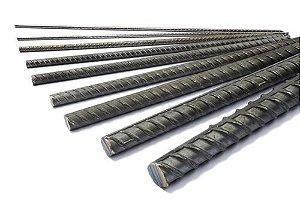 Barra de Ferro Vergalhão D CA50 8,0mm 5/16 12m 4,74Kg