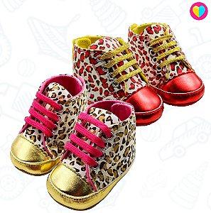 Sapatinho Mini Dona Leopardo