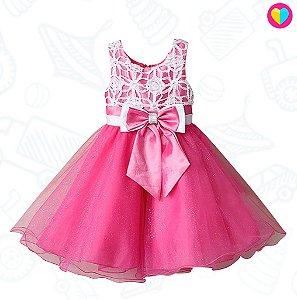 Vestidinho Mini Dona Party Pink