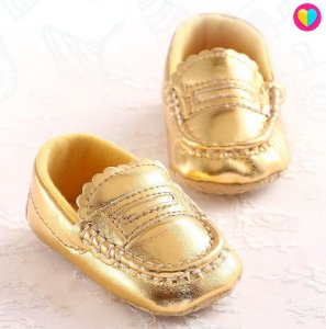 Sapatinho Mini Dona Dourado