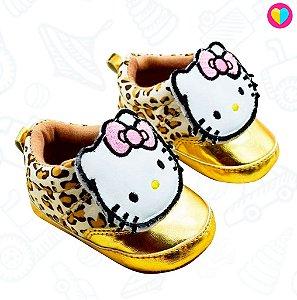 Sapatinho Mini Dona Hello Kitty Oncinha