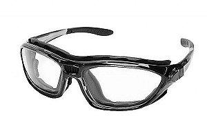 e4f93b5d33616 Óculos de segurança esportivo plano Argos cinza - Morais Optical ...