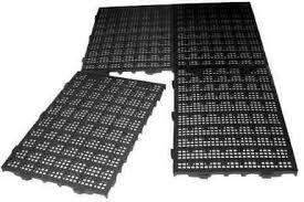 40 Estrados Plásticos Pisos 50x25x2,5 cm Pisos Plasticos