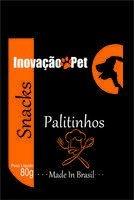 Snacks Premium Palitinhos 80g Palito em Couro Rígido