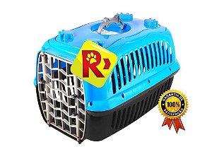 Caixa Transporte Para Cães e Gatos e Hansters Porquinho da Índia em Plástico