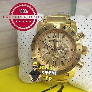 Relógio Bvlgari Homem de Ferro Gold