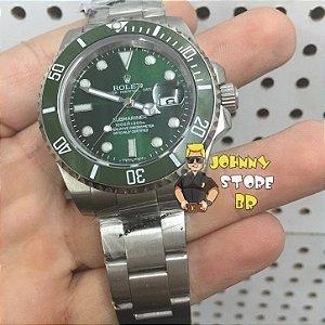 Relógio Rolex Submariner Verde Ceramica