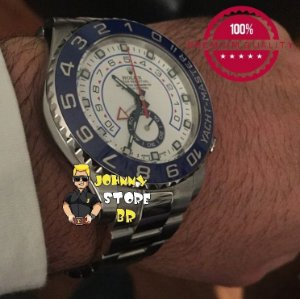 Relógio Rolex Yacht Master II Silver Blue