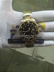 Relógio Rolex Submariner Preto Misto Preto