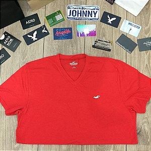 Camiseta Original Hollister Vermelha