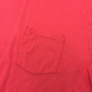 Camiseta Original ABERCROMBIE Vermellha Gola V