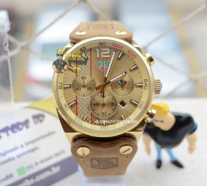 Relógio Tag Heuer Formula 1 Indy500 Gold