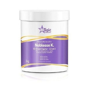 Magic Color - Nobelesse Máscara Restauradora 12 em 1 CC Cream Capilar 1KG