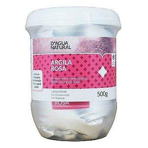 D'água Natural  Argila  Natural Rosa 500g