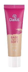 Base Líquida Soft 30g Dailus Cor  06 -Bege Médio
