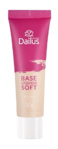 Base Líquida Soft 30g Dailus Cor  02 -Nude