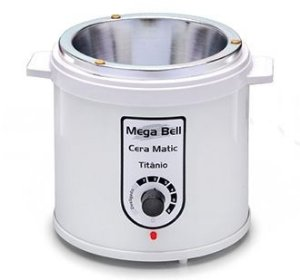 Mega Bell Panela para depilação Titanio - Bivolt
