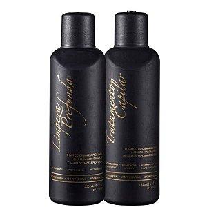 Inoar Tratamento Capilar Marroquino Hair Kit Escova Marroquina (2 Produtos)