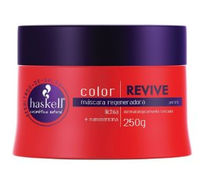 Máscara  Haskell Color Revive Lichia + Sericina 250ml