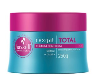 Máscara Reparadora Haskell Resgat Total Quinoa + Cisteína 250g