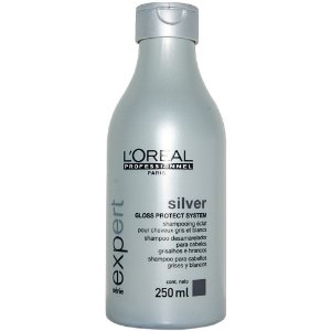 Loreal Silver Gloss Protect System Shampoo 250ml