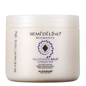 Alfaparf Semi di Lino Diamante Anti-Age Rejuvenating Balm - Condicionador 500g