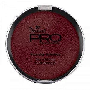 Pó Pancake Artístico Dailus PRO Cor 06 - Vermelho