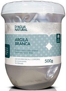 D'água Natural Argila Branca 500g