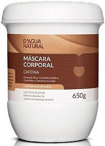 D'água Natural Creme de Massagem Cafeina 650g