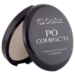 Dailus Pó Compacto 02 Bege Claro