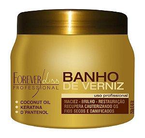 Forever Liss  Banho De Verniz Brilho E Hidratação Extremo  250 gramas