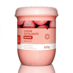 D'água Natural Esfoliante  Apricot Suave Abrasão 650g