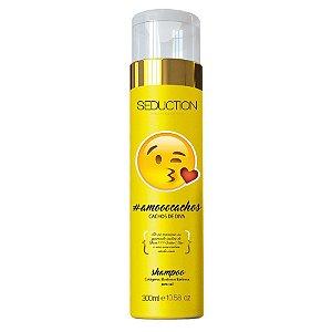 Seduction Professional Shampoo Emotions Amo Cachos de Diva - 300g