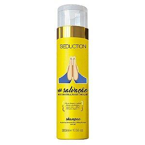 Seduction Professional Shampoo Salvação - Recontrução de Choque - 300g