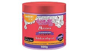 Salon Line Máscara Tratamento Pra Abalar Hidratação Milagrosa! 500g