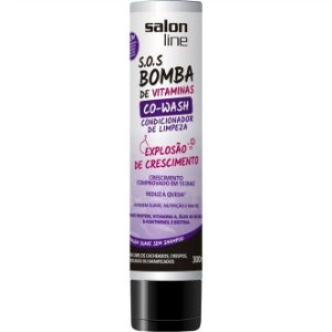 Salon Line Condicionador SOS Bomba Explosão de Crescimento Co-Wash 300ml
