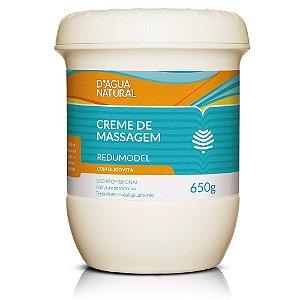 D'água Natural Creme de Massagem Redumodel com Oligovita