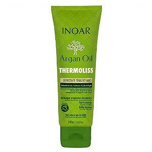 Inoar Argan Oil Thermoliss Desfrizante Termoativado - Bálsamo Antifrizz 240ml