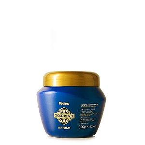Amend Creme hidratante Gold Black Aloe Vera e D Pantenol 350g
