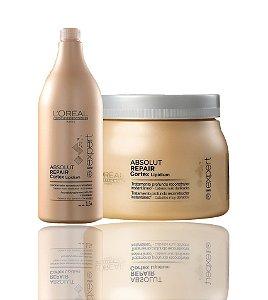 L'Oréal Absolut Repair Kit Shampoo 1,5l + Máscara 500g