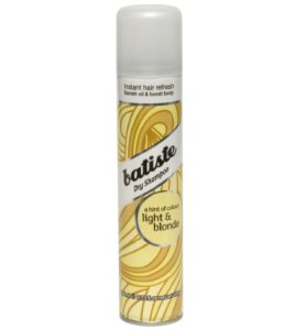 Batiste Shampoo Seco Light & Blonde  200ml