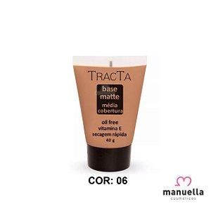 TRACTA BASE MATTE MÉDIA COBERTURA 40G 06