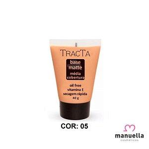 TRACTA BASE MATTE MÉDIA COBERTURA 40G 05