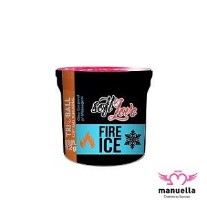 SOFT LOVE BALL FUNCIONAL FIRE ICE COM 3 UNIDADES
