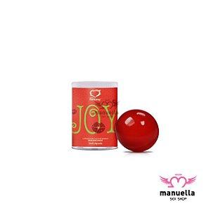 SEXY FANTASY JOY BOLINHA MORANGO C/ 1 UNIDADE